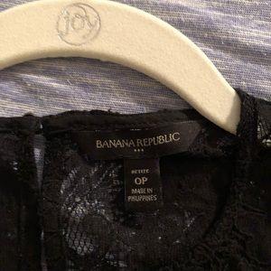 Banana Republic Dresses - Pretty lace black dress